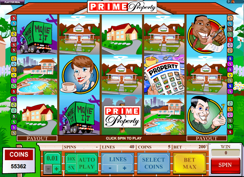 Prime Property The Jackpot Machine